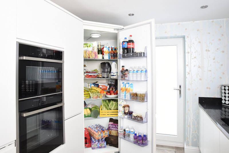 Como armazenar alimentos na geladeira