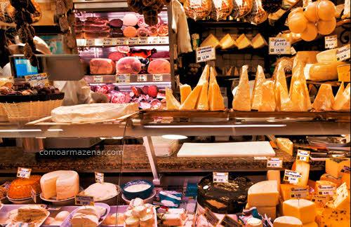 Como armazenar frios, queijos e embutidos
