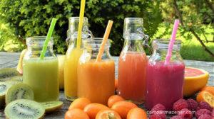 Como armazenar suco de laranja