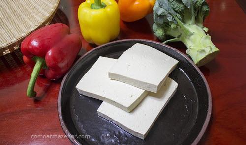 Como armazenar tofu