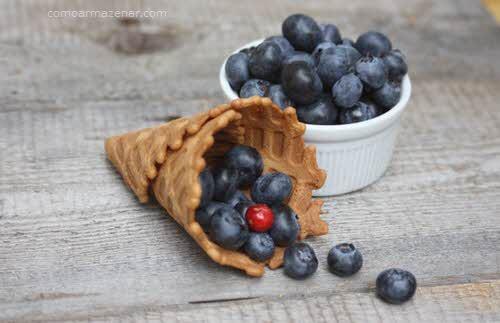 Como armazenar mirtilo blueberry