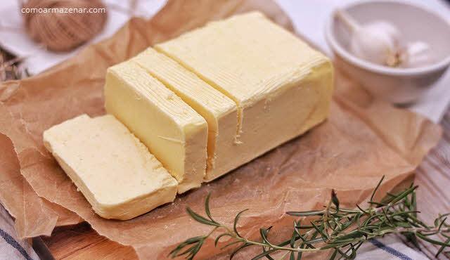 Como armazenar manteiga