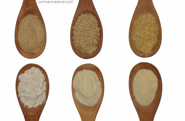 Como guardar farinha de trigo