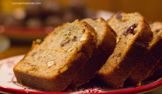 Como armazenar pão de banana ou banana bread