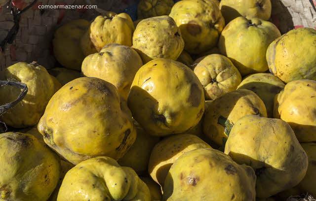 Como armazenar fruta marmelo