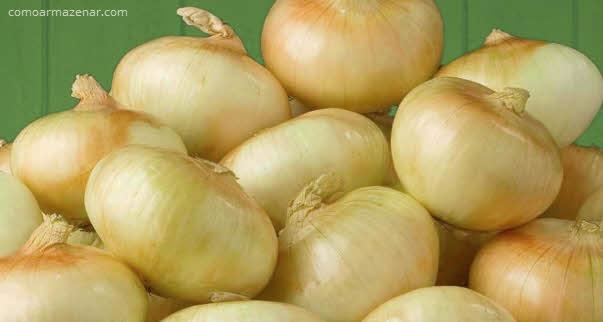 Como armazenar cebola vidalia ou cebola doce