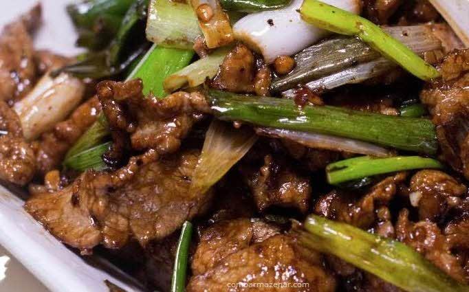 Como armazenar chop suey de carne
