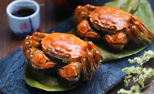 Como armazenar caranguejo fresco cru e cozido