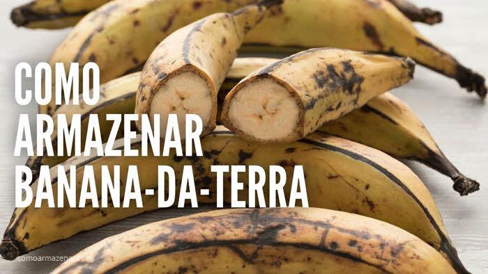Como armazenar banana-da-terra